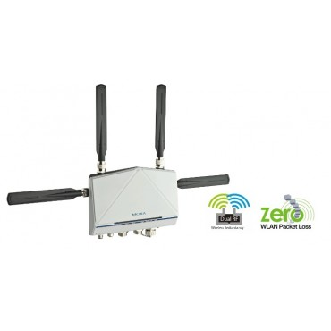 AWK-6222 Series MOXA Industrial IEEE 802.11a/b/g IP68 Dual-Radio Wireless AP/Bridge/Client