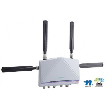AWK-6232 Series MOXA Industrial IEEE 802.11a/b/g/n IP68 Dual-Radio Wireless AP/Bridge/Client
