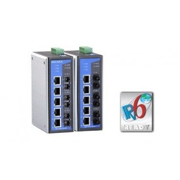 EDS-408A 3 Fiber Series MOXA 8-port Entry-level Managed Ethernet Switch with 3 Fiber Ports