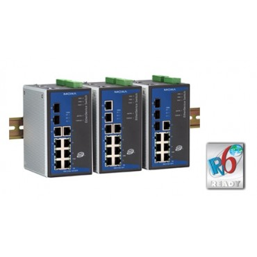 EDS-510A Series MOXA 7+3G-port Gigabit managed Ethernet switches