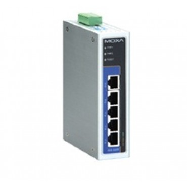 EDS-G205 Series MOXA 5G-port full Gigabit unmanaged Ethernet switches