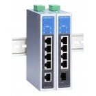 EDS-G205A-4PoE Series MOXA 5-port full Gigabit unmanaged Ethernet switches with 4 IEEE 802.3af/at PoE ports