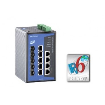 EDS-G509 Series MOXA 9G-port full Gigabit managed Ethernet switches