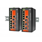 IGS-803SM CTC Union 8x port 10/100/1000Base-T+ 3x port 100/1000Base-X SFP Slot Industrial Layer 2 Managed Switch