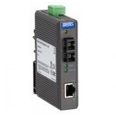 IMC-21-M-SC Moxa Ethernet to Fiber media converter (entry-level), 10/100BTX to 100BFX w/multi mode SC connector