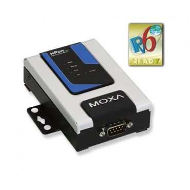 NPort 6150 Series MOXA 1-port RS-232/422/485 secure terminal server