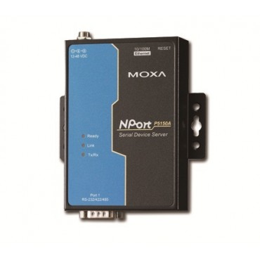 NPort P5150A Series MOXA 1-port PoE RS-232/422/485 serial device servers