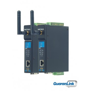 OnCell G3110/G3150 MOXA Industrial quad-band GSM/GPRS/EDGE IP gateways with VPN