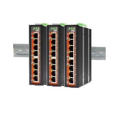 IFS-800 CTC Union 8x port 10/100Base-TX Industrial Fast Ethernet Switch
