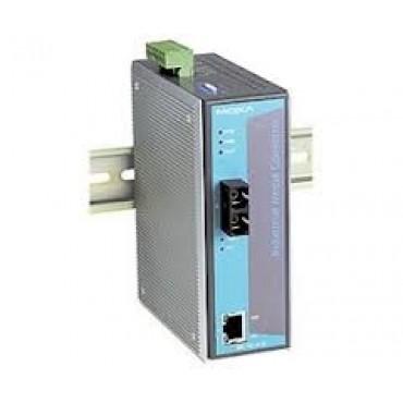 IMC-101-S-SC Moxa Ethernet to Fiber media converter, 10/100BTX to 100BFX w/single-mode SC Connector Connector